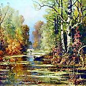 Юлий Клевер, Осенний парк
