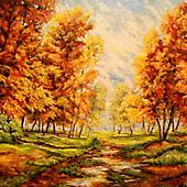 Лилия Чёрная, Осень