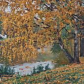 Станислав Брусилов, Осенняя аллея