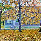 Борис Мандрыкин, Осень